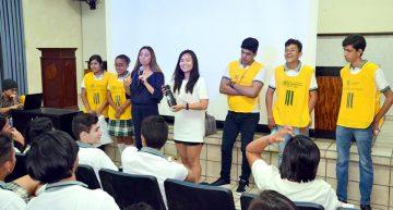 Jóvenes universitarios crean  conciencia sobre cuidado del agua
