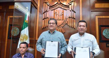 Firman convenio marco UdeC y el  Sistema Estatal de Seguridad Pública