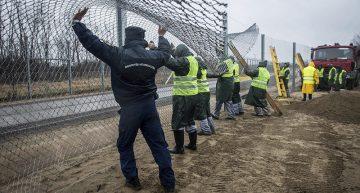 Hungría construye una nueva cerca fronteriza de alta tecnología