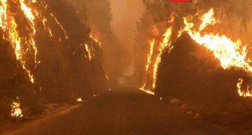 Bomberos y PC combatieron incendios en Tepoztlán y Cuernavaca