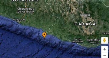 Sismo de 4.8 con epicentro en Oaxaca