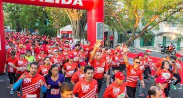 1 mil 500 corredores en carrera 10K Ternium Colima