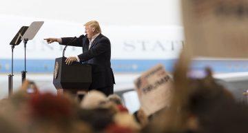 Trump presenta al Congreso presupuesto fiscal 2017; incluye muro fronterizo