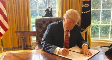 Nuevo decreto migratorio de Trump prohíbe entrada a ciudadanos de seis países