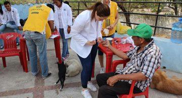 Realiza CEDEFU Brigada de reforestación y salud en la comunidad de Picachos