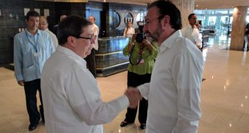 Canciller mexicano visita Washington y La Habana