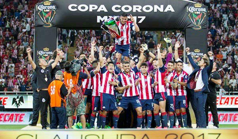 Los nuevos campeones de Copa con Chivas