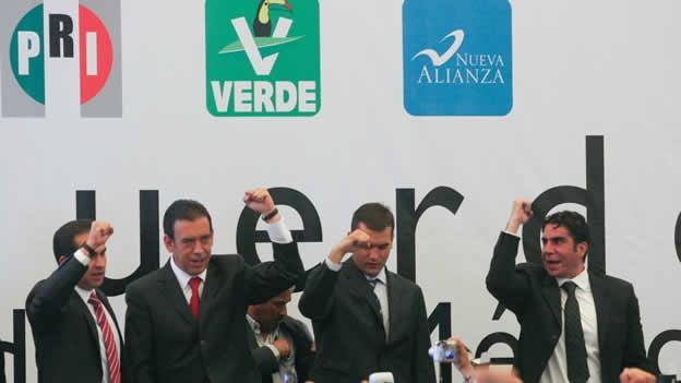 Foto: AFmedios / Alianza PRI- PVEM y Nueva Alianza
