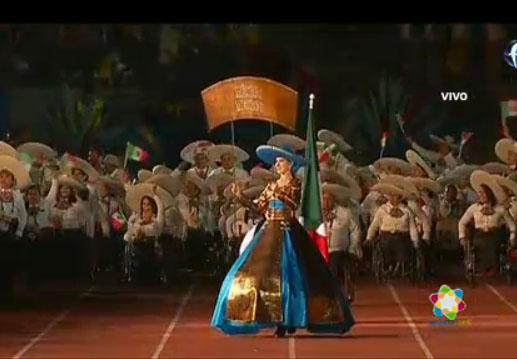 Foto: AFmedios / Inauguración de los Juegos Parapanamericanos