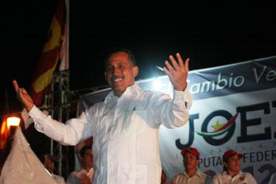 Joel Padilla, en busca de la Diputación Federal