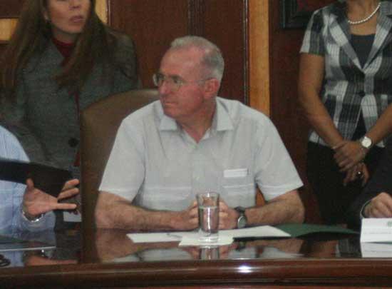 Foto: Edgardo Zamora /AFmedios   Javier Mendieta, director de la Agencia Espacial Mexicana