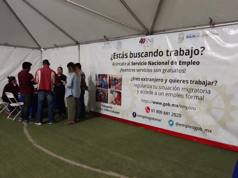 Stps Instala Módulo De Empleo Para Migrantes En Tijuana