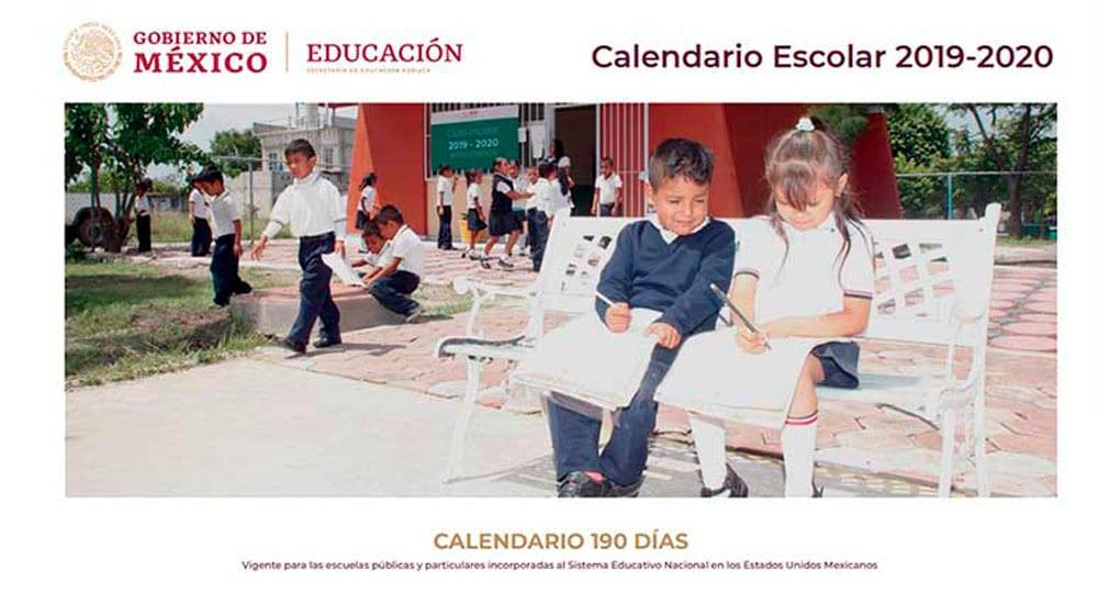 Calendario Escolar 2020 Sep Cdmx.Sep Da A Conocer Calendario Escolar Para Ciclo 2019 2020