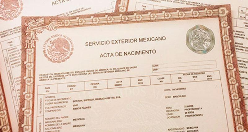 Colima ofrece actas de nacimiento en línea para imprimir desde ...