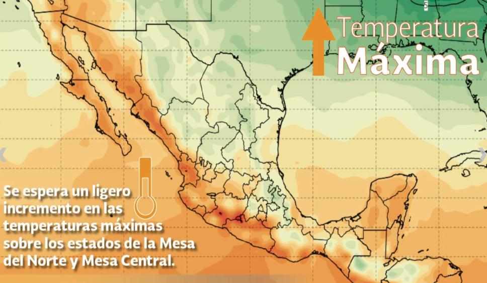 Colima marcó 33.1°C, 2da mayor temperatura del país