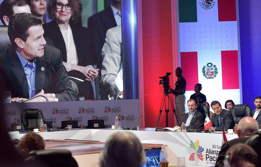 México, sede de encuentro empresarial Alianza Pacífico