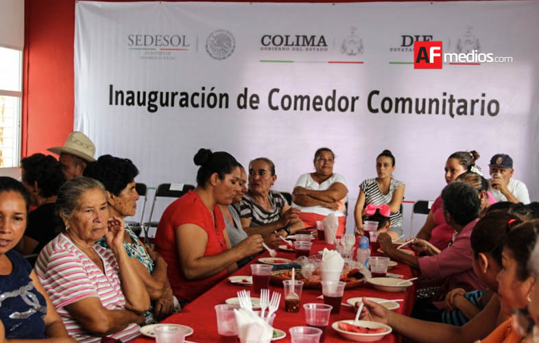 Abren comedor comunitario en los asmoles for Como abrir un comedor comunitario