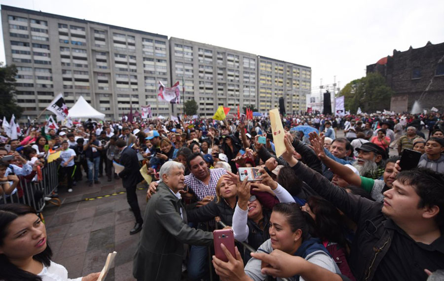 Anuncia López Obrador creación de la Guardia Civil Nacional